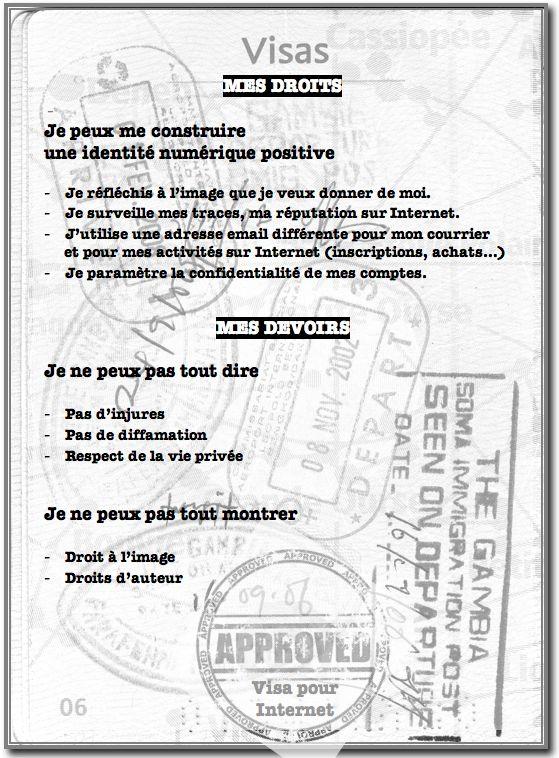 Passeport pour Internet : quelle est ton identité numérique ?
