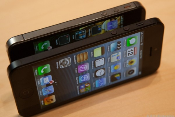 #iPhone 5 vs #iPhone 4S