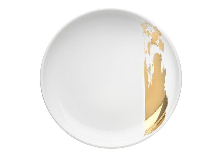 PAYNTER SHALLOW BOWL - Gold