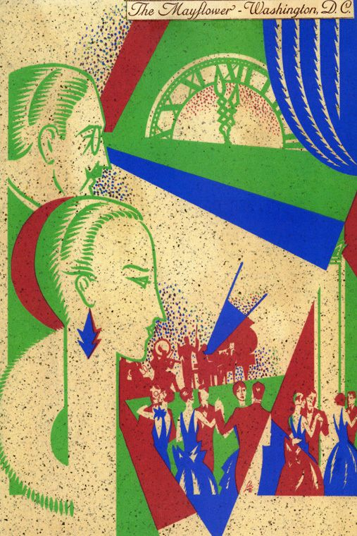 The Mayflower Ball Washington D C Party Music Dance USA Vintage Poster Repro | eBay