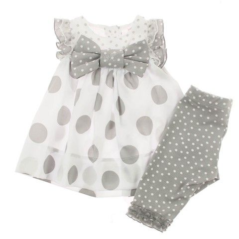 Monnalisa Baby Girls Grey Polka Dot Dress & Leggings Set http://www.amazon.com/s/ref=sr_il_ti_merchant-items?me=A2UMO9W81YMSJN&rh=i%3Amerchant-items&ie=UTF8&qid=1442148078&lo=merchant-items                                                                                                                                                     More