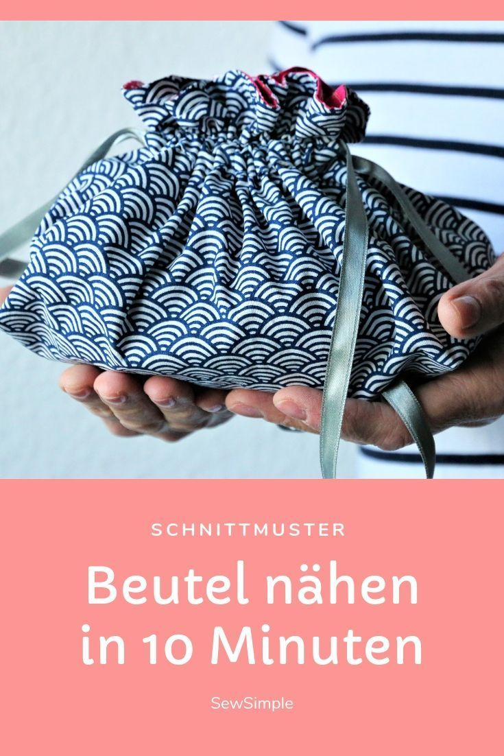 FreeBook BILLE: Beutel nähen in 10 Minuten