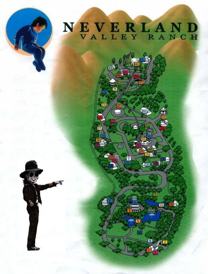 NEVERLAND RANCH of Michael Jackson
