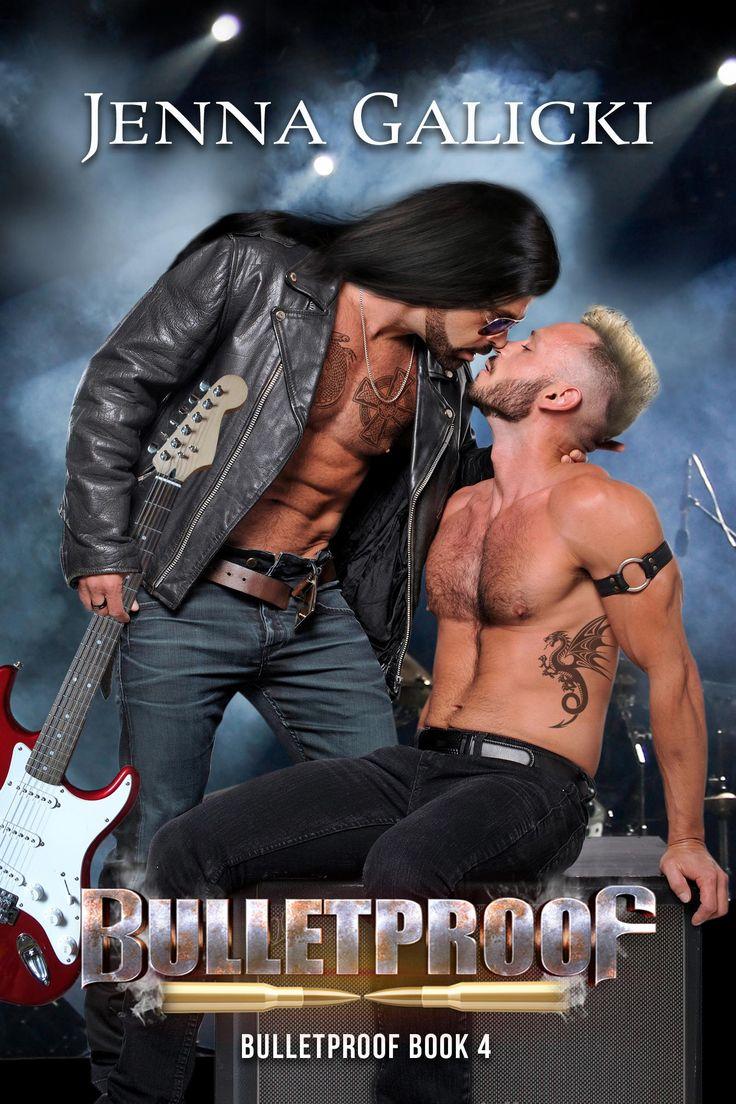 MM Rock Star Romance Book Cover Design by Chloe Belle Arts for Jenna Galicki