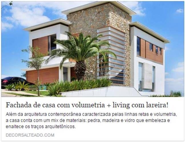 Matéria sobre nosso projeto no Blog Decor Salteado! #residencia #casa #projetoresidencial