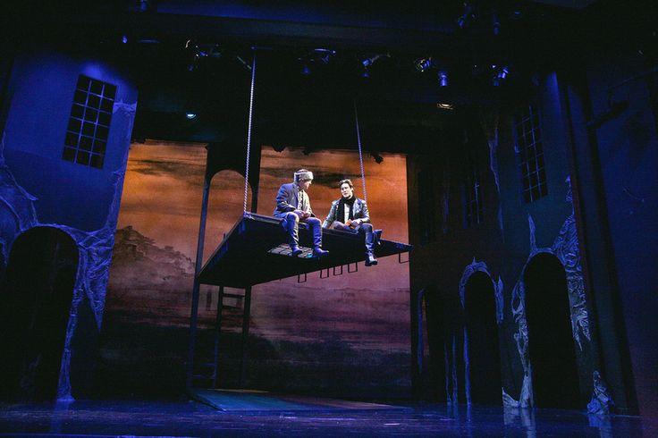 Hamlet. The Shakespeare Theatre of New Jersey. Scenic design by Adam Miecielica.