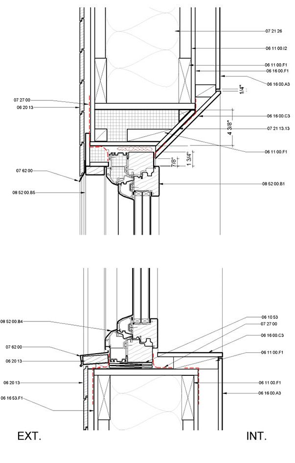 Steel Stud Wall Section