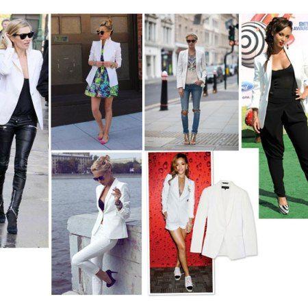 Fashion Musthave: de witte blazer