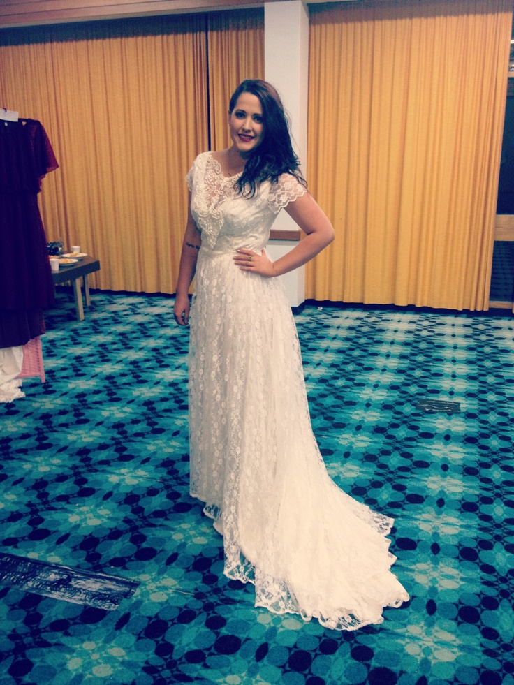 Gorgeous Restyled Vintage Wedding Dress By Grace Of Autumn