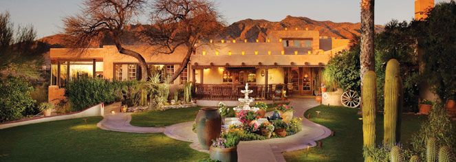 John Wayne and Clark Gable both signed their names to the Hotel's privileged guest book.   Hacienda del Sol Guest Ranch Resort, Tucson | #Historic Hotels of America