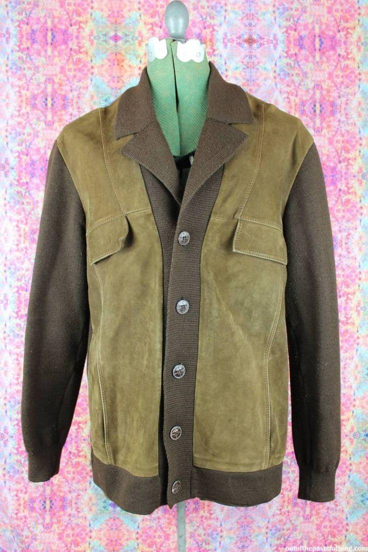 Rockabilly Vintage Suede Kramer Sweater