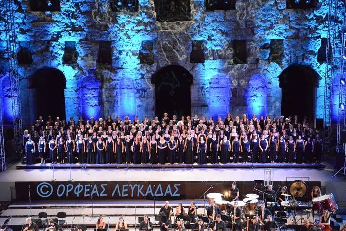 2014. Ο Ορφέας Λευκάδας στο Ηρώδειο.
