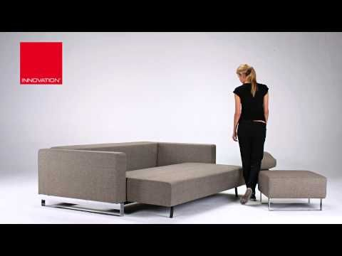 INNOVATION LIVING CASSIUS SLEEK EXCESS LOUNGER SOFA BED