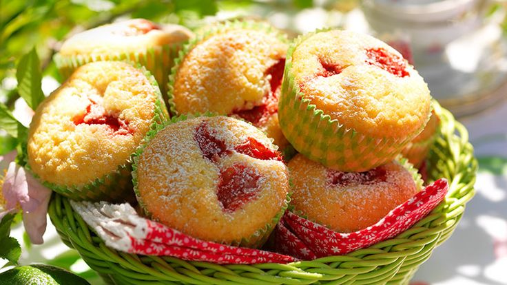 Jordgubbar, lime, vanilj och mandelmassa – en riktig smakexplosion!