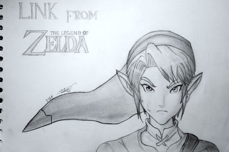 Link, from The Legend of Zelda.
