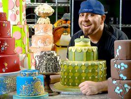 Pat-a-cake-pat-a-cake bakers man