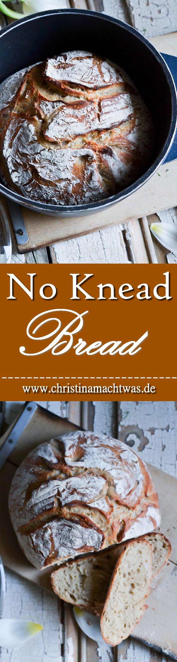 Einfaches No Knead Bread / Topfbrot. Schnell, einfach und günstig. --- Low Budget friendly No knead Bread Recipe.