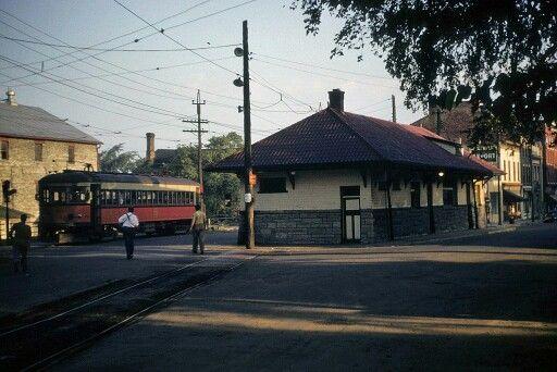 Streetcar Station Thorold