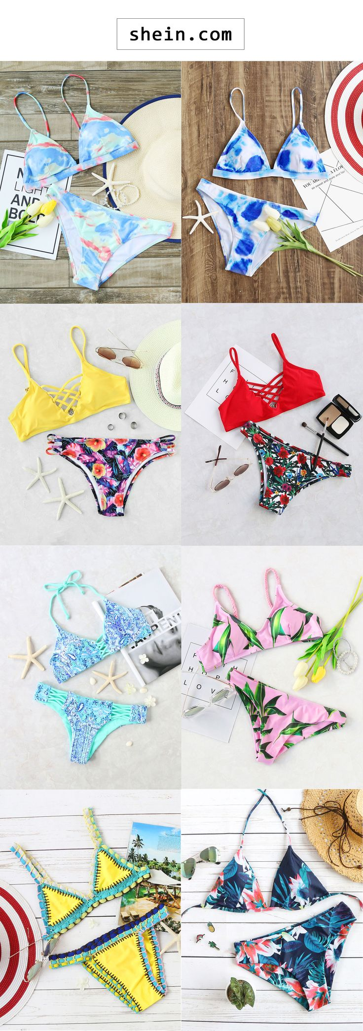 Print swimwear