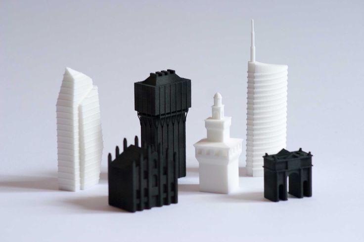 DCD - Davide Chiesa Design  Milan Chess Set Ideafactory Store  3D printing Fuorisalone 2015