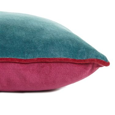 View All | BLUE Carolyn Donnelly Eclectic Velvet Cushion | Dunnes Stores