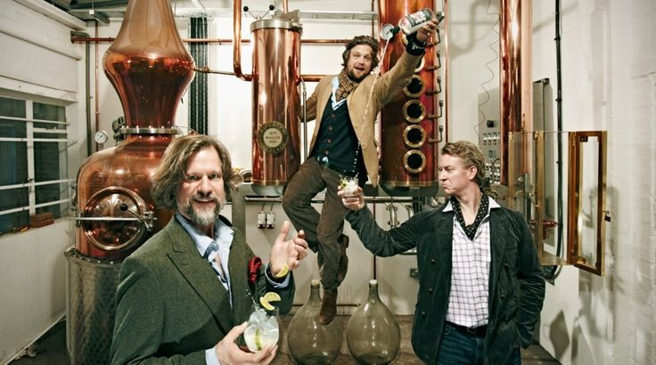 Founders of Sipsmith Gin