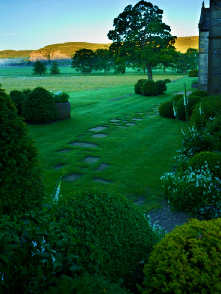 Yorkshire Dales garden path