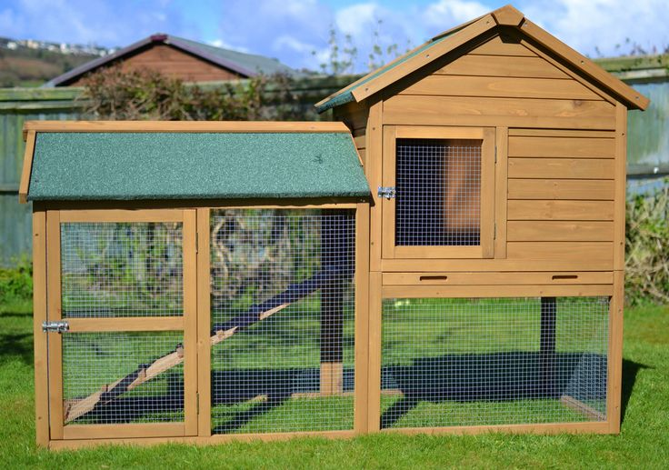 The Manor 6ft Extra Large Rabbit Hutch - Outdoor Rabbit Hutches