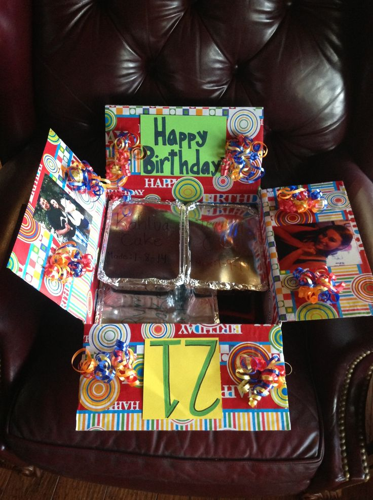 1000 Ideas About Birthday Care Packages On Pinterest
