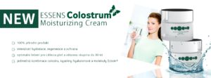 NEWS Moistrurizing Cream 100 % natural product, intensive hydration, regeneration and protection optimal solution for sensitive skin and the under 30 age group, unique combination of colostrum, hyaluronic acid and Ectoin® molecule - http://essensclub.cz/essens-colostrum-moisturizing-cream/