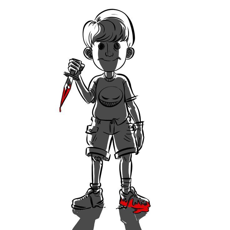 #art #illustration #digitalart #drawing #photoshop #child #murderous