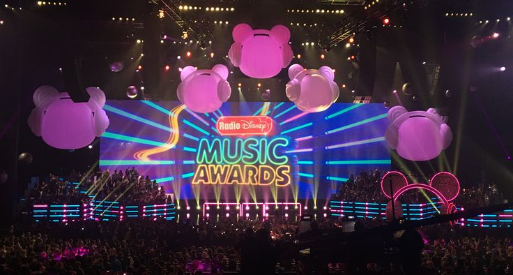 RADIO DISNEY MUSIC AWARDS  Silent House Productions -  Production Design by Tamlyn Wright, Art Direction by Leticia Leon