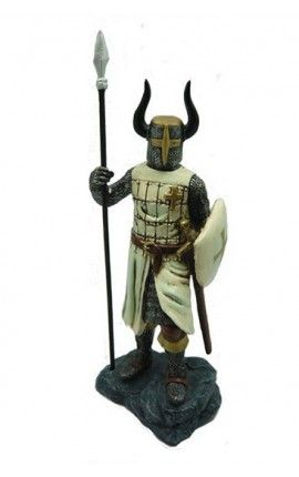 Caballero cruzado (20 cm)