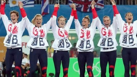 "Helen Richardson-Walsh (third from left) was part of the hockey team that won gold at the Rio Olympics  There are five widely accepted stages of grief. Denial. Anger. Bargaining. Depression. Acceptance.   In 2014 hockey player Helen Richardson-Walsh was in her own words ""fluxing between the anger bargaining and depression stages"".  She had back surgery on a chronic injury and was grieving for the loss of a place at the World Cup. Two  years later Richardson-Walsh was an Olympic champion…"