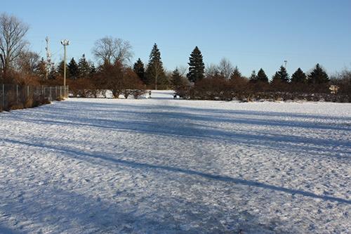 Oshkosh Dog Park Winter