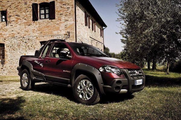 Fiat Strada Lumberjack edition-disponible solo en alemania