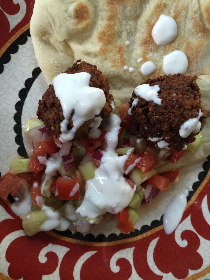 The Best Green Falafel - Mayabugs's Recipes