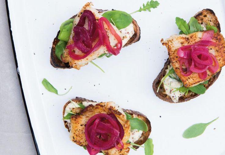 Sinappiset kalasliderit | Koti ja keittiö