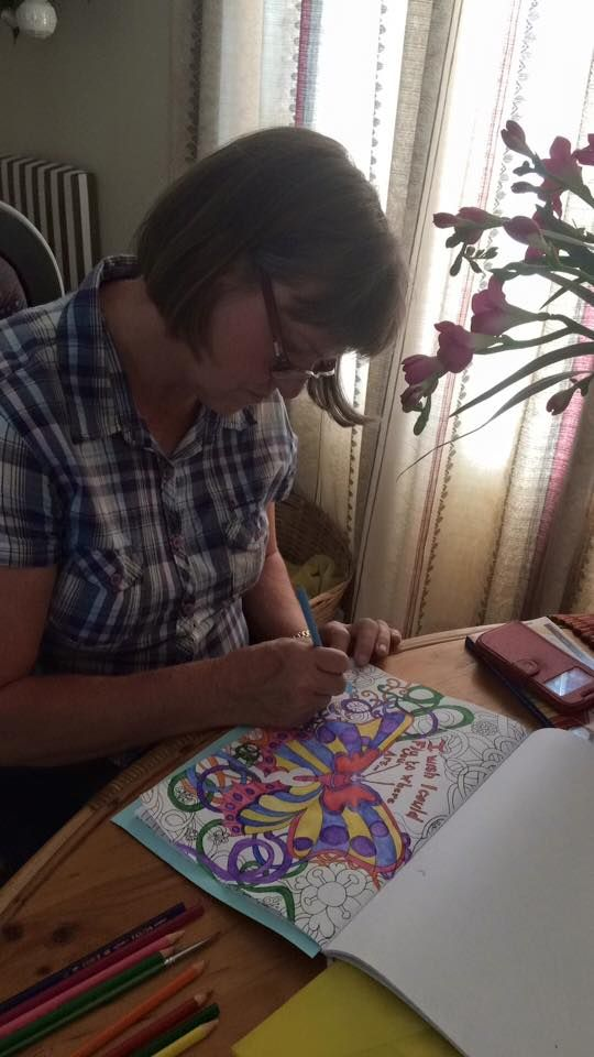 mom in law loved colouring in in my book too , love her to bits