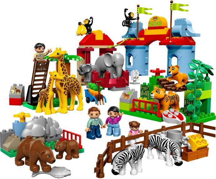 LEGO Duplo set 5635: Big City Zoo.