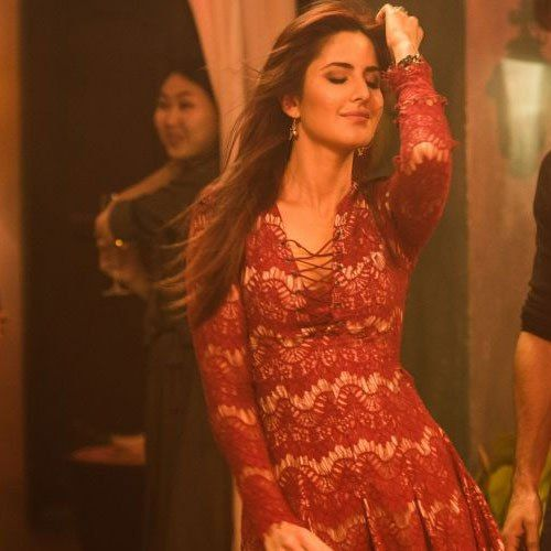Katrina Kaif's Red Hair for Fitoor