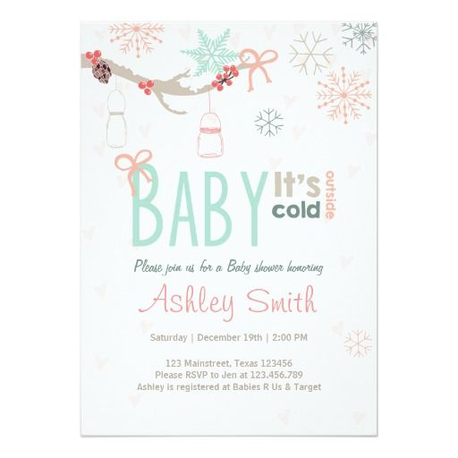 1000+ images about mason jar baby shower invitations on pinterest, Baby shower invitations