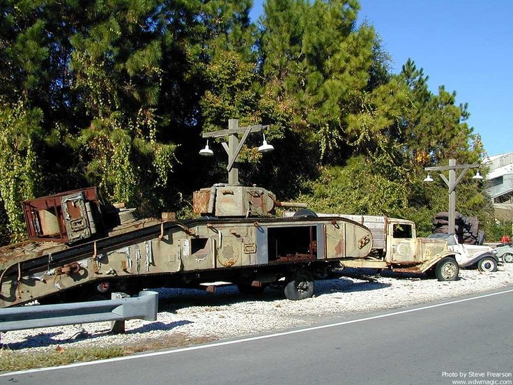 Studio Backlot Tour- The old boneyard. This is from ...
