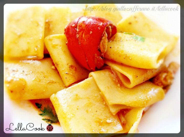 Paccheri con Astice e Aragosta - Ricetta gustosa http://blog.giallozafferano.it/lellacook/paccheri-astice-aragosta/ - #foodblogger @GialloZafferano @GialloBlogs