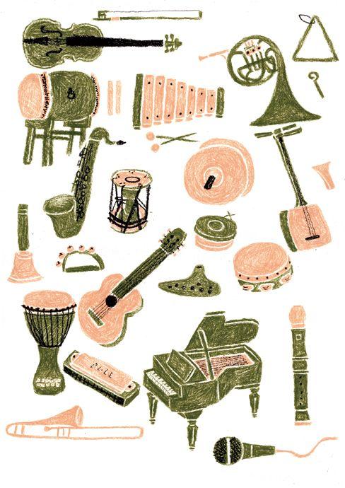 Les instruments de musique Jin Kitamura