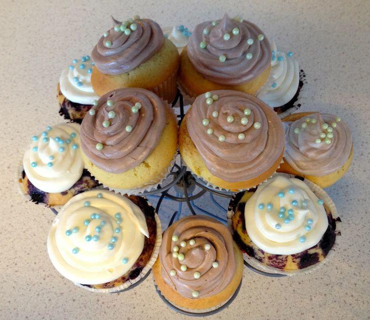 Vanillje cupcake | Vakre kaker