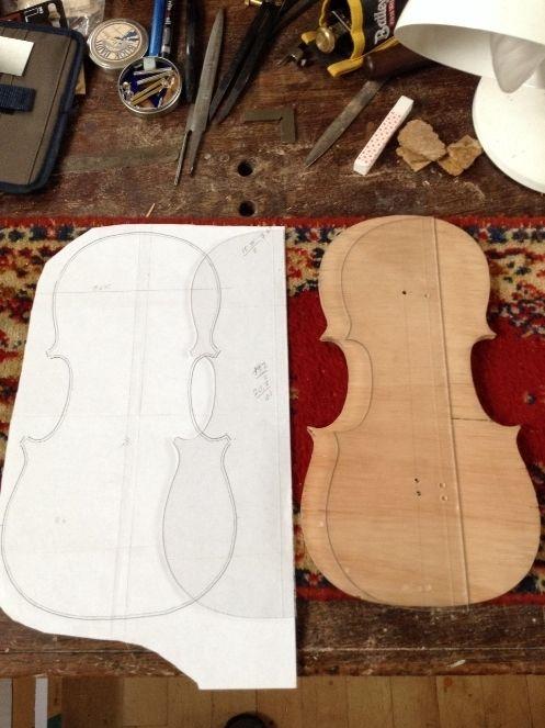 Making a violin