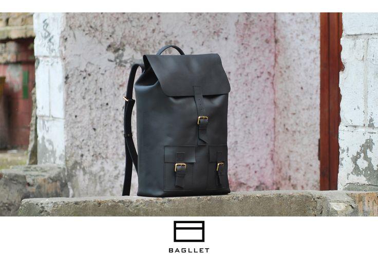 Кожаный портфель - Bagllet