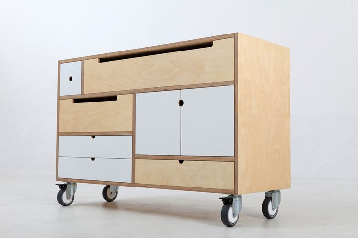 Play Play™ Original 2013 | Low Chest on wheels | Furniture Design & Manufacture – De Steyl Quality Furniture