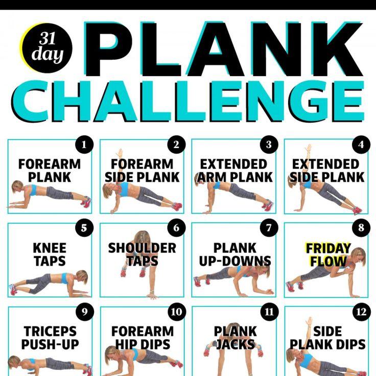 Bonus! Plank Challenge Calendar - Fitnessmagazine.com
